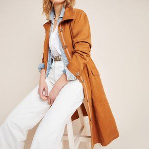 HTF Anthropologie Uma Utility Duster Jacket